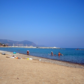 Plaża w Latchi