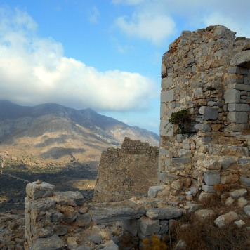 zamek Megalo Chorio