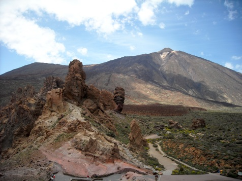 Cañadas del Teide,Teneryfa