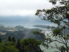 ostatnie spojrzenie,bo wchodzę w strefę mgły