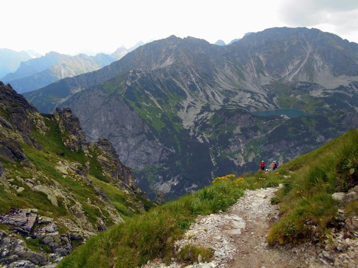 zejście do Doliny Pięciu Stawów