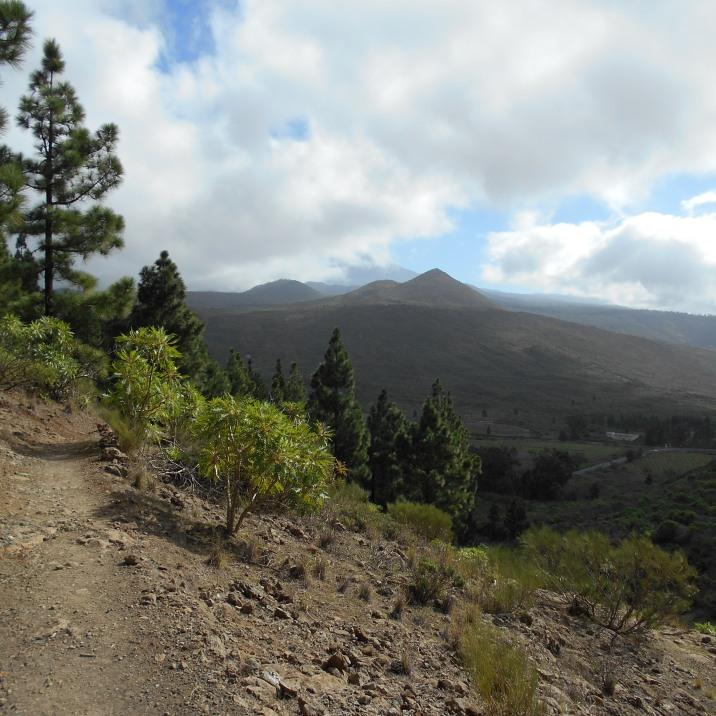 Teide chowa się za chmurami