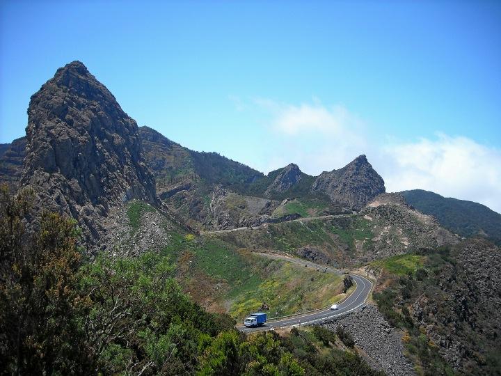 Gomera góry