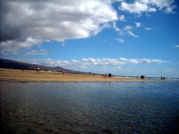 w stronę Playa de Ingles