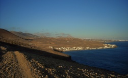 w stronę Playa Quemada