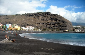 plaża w Puerto de Tazacorte
