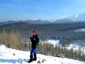 Wielki Kopieniec zimą