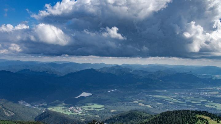 Słowacja góry Mała Fatra panorama Chleb
