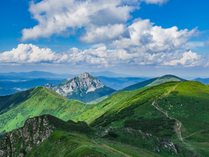 Mała Fatra Chleb szlak panorama