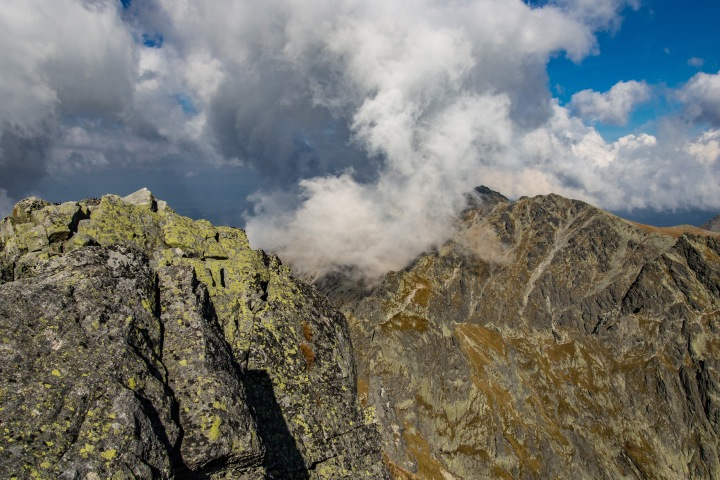 Zadni Granat szczyt