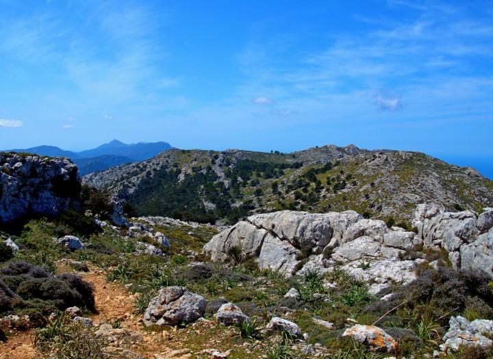 Puig des Teix szlak