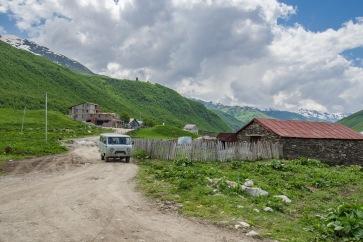 na obrzeżach wioski