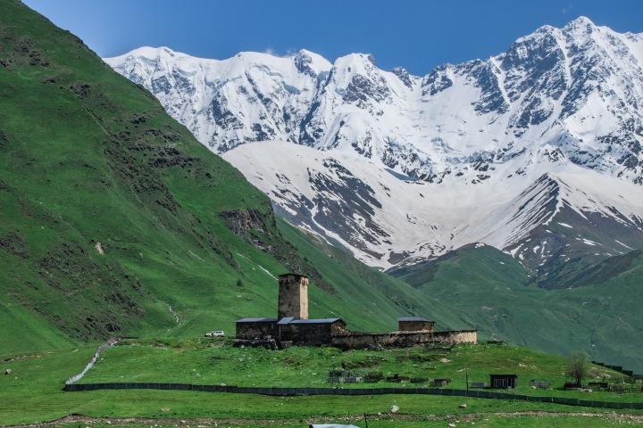 Szchara Uszguli Swanetia trekking