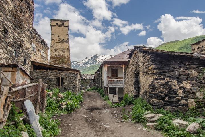 Uszguli Gruzja wioska
