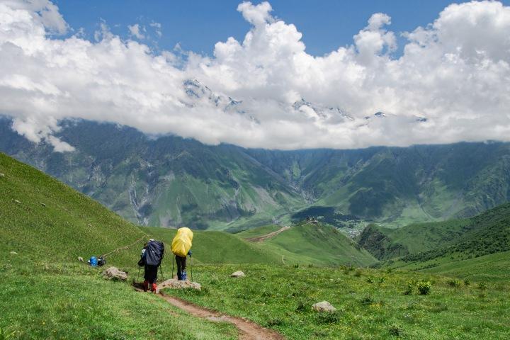 szlak Kazbek