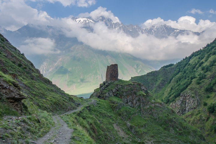 Kazbegi trekking