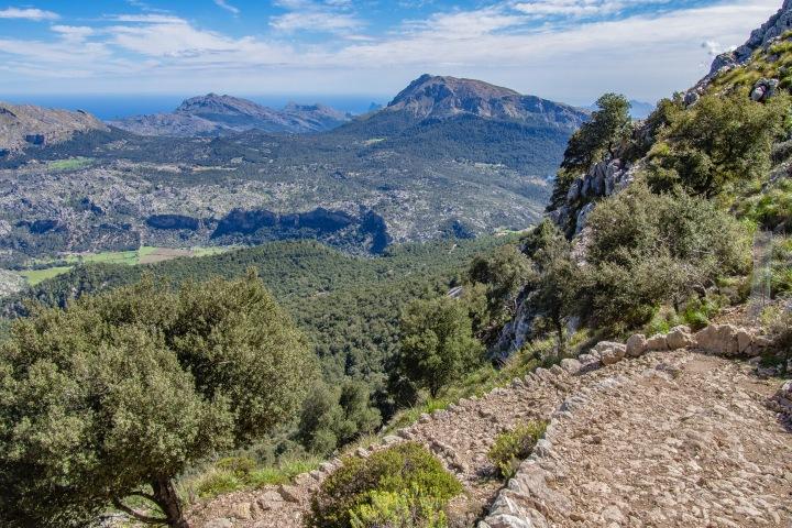 Puig d' Galileu szlak