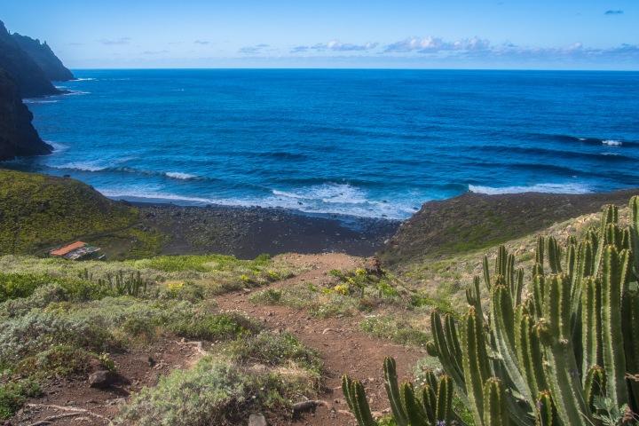 Playa de Tamadite Taganana Afur szlak