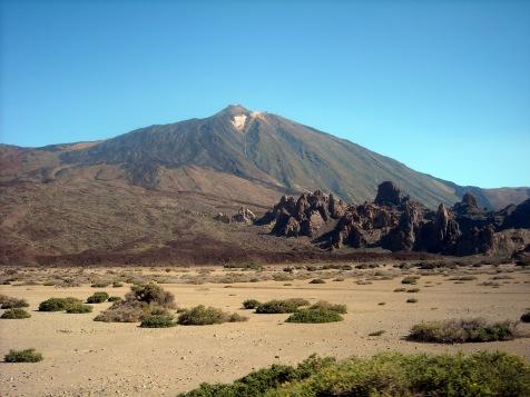 pierwsze spotkanie z Teide 2011