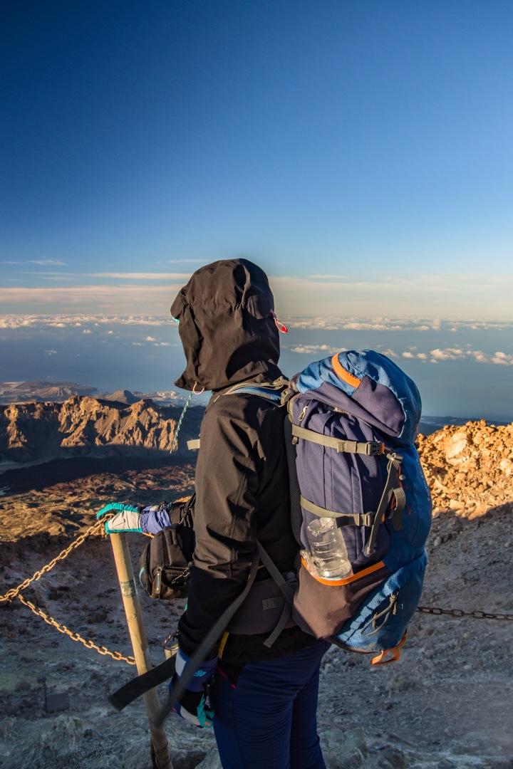 Teide Teneryfa szczyt