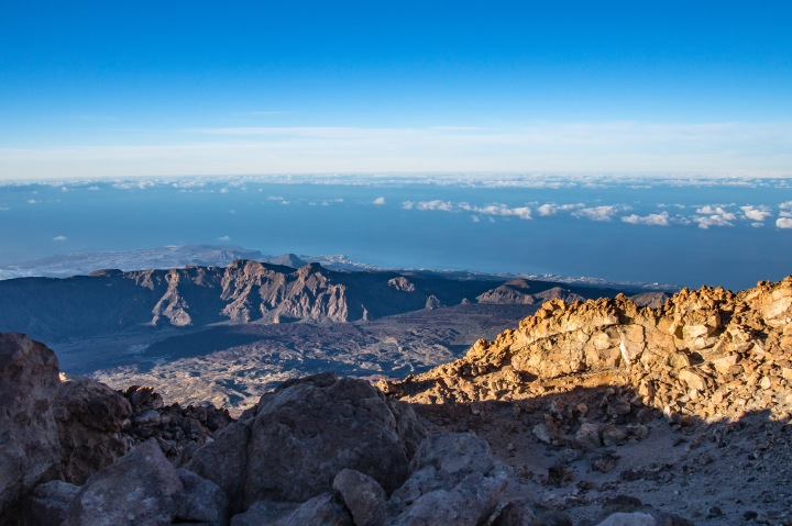 Teide szczyt panorama