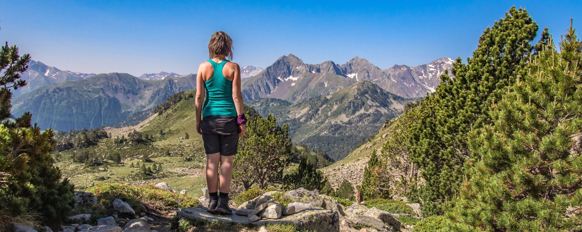 Col de Bastanet szlak Pireneje