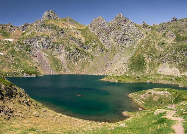 Lac Bersau Pireneje