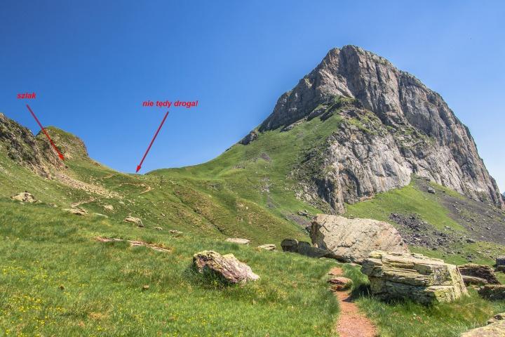 Refuge d'Ayous szlak Pireneje francuskie