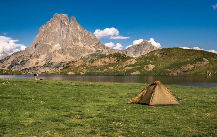 Lac Gentau Pireneje