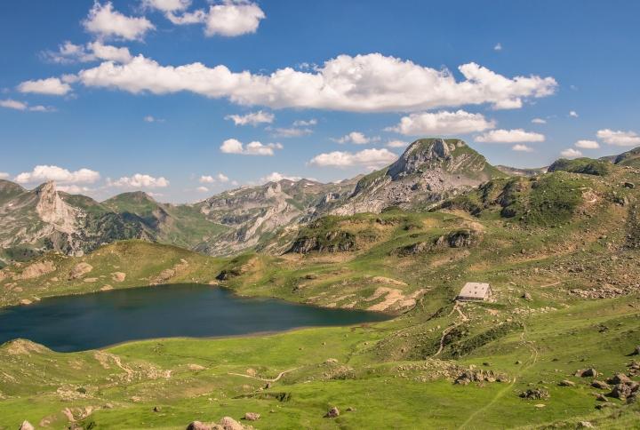 Refuge d'Ayous szlak GR10 Pireneje
