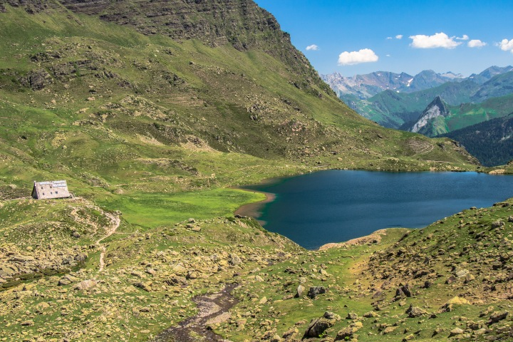 schronisko Ayous Pireneje szlak