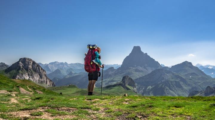 Col des Moines szlak Pireneje