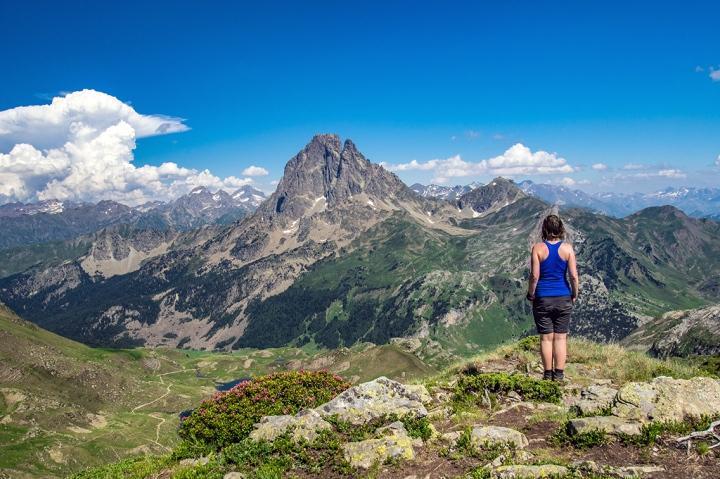 Pireneje Ayous szlaki trekking Pic du Midi d'Ossau
