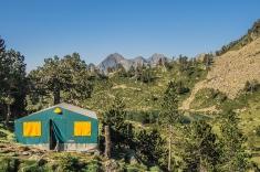 namiot - część schroniska
