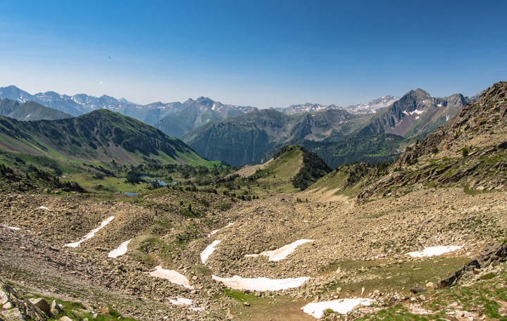 Col de Bastanet szlak Pireneje trekking Neouvielle
