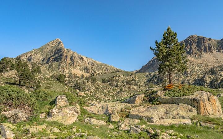 Col de Bastanet szlak Pireneje trekking