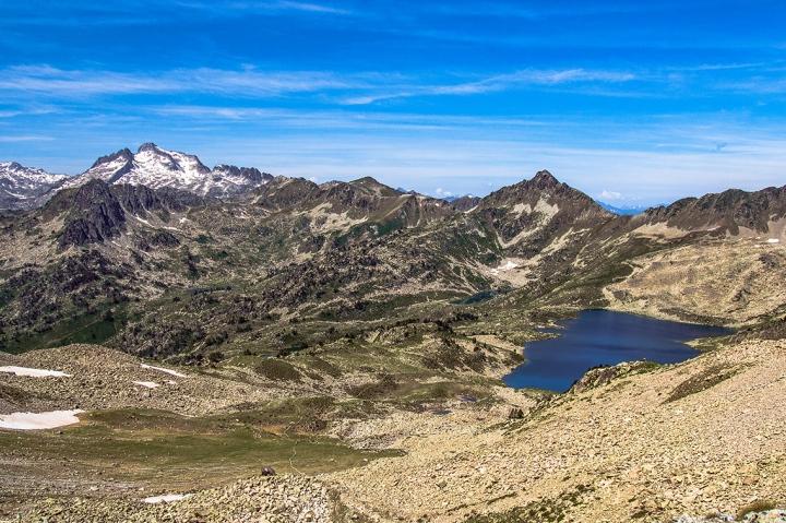 Pireneje szlak trekking