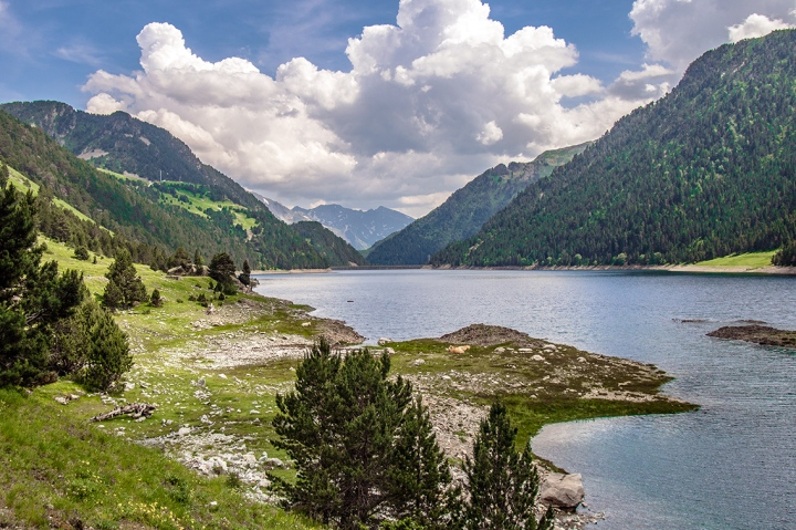Lac l'Oule szlak Pireneje