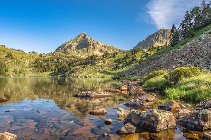Pic de Bastan szlak Pireneje