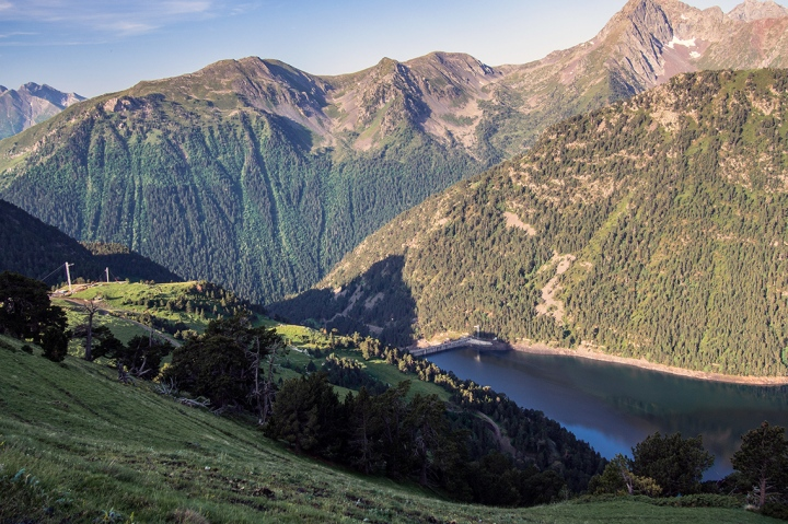 Lac L'Oule Pireneje szlak