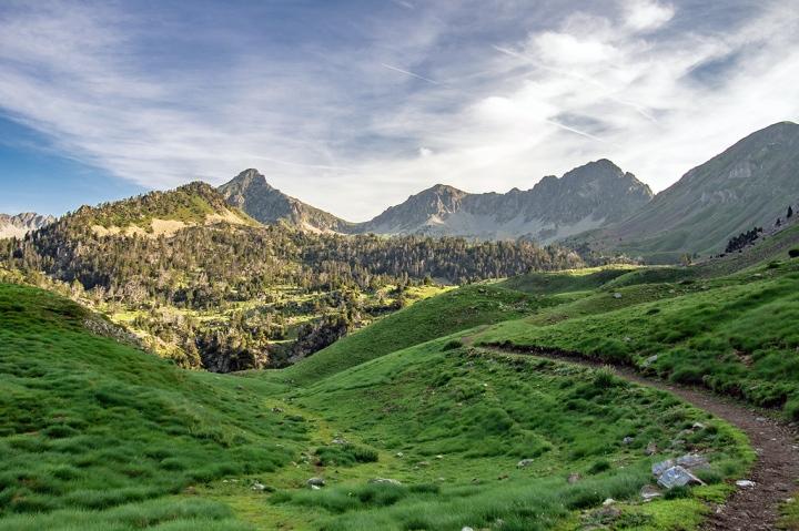 GR10 Refuge de Bastanet Pireneje szlaki trekking