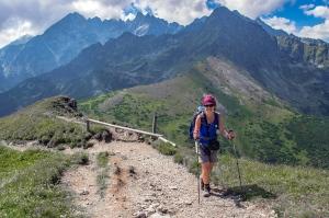 Tatry Bielskie Szeroka Przełęcz szlak