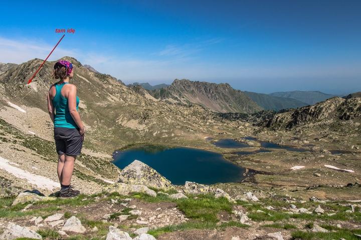 Col de Bastaner GR10 szlak Pireneje