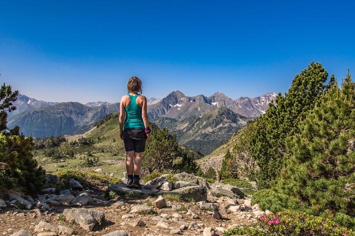 Col de Bastanet GR10 szlak Pireneje trekking