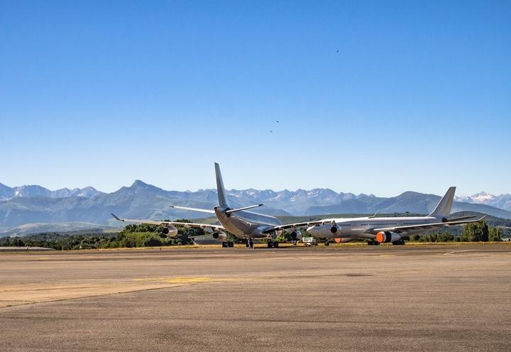 Lourdes lotnisko Ryanair