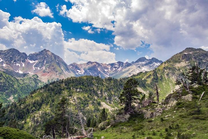 Neouvielle Pireneje szlaki trekking