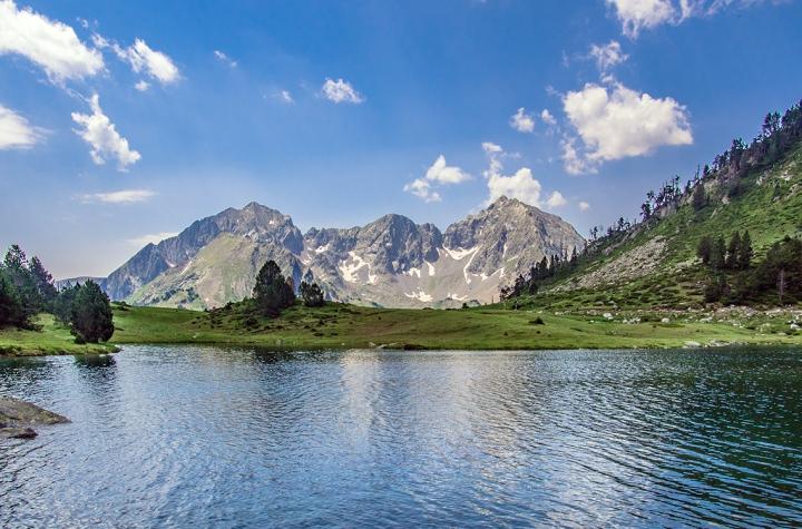 Lac d'Aumar szlak Pireneje