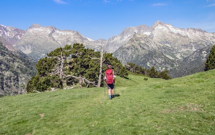 GR10 Col d' Estoudou szlak Pireneje