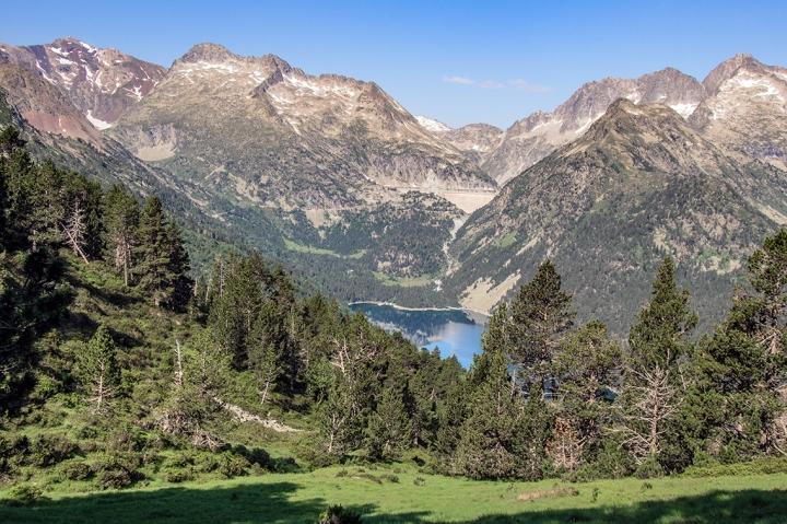 Lac d'Ordeon Cold d'Estoudou panorama