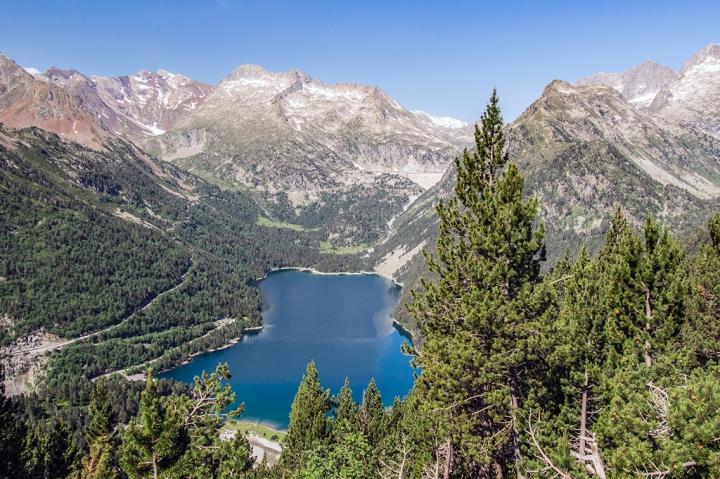 Lac d'Ordeon Pireneje trekking